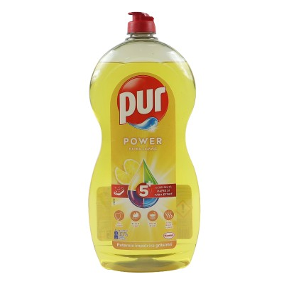 Препарат за съдове Pur Power Lemon