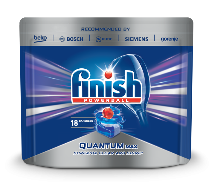 Таблетки за съдомиялна Finish Quantum Max