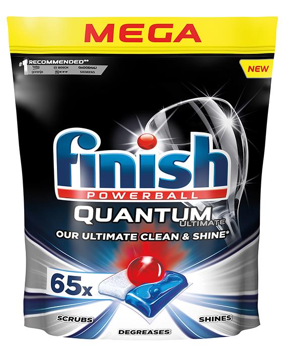 Капсули за съдомиялна Finish Quantum Ultimate