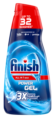 Гел за съдомиялна Finish All in 1