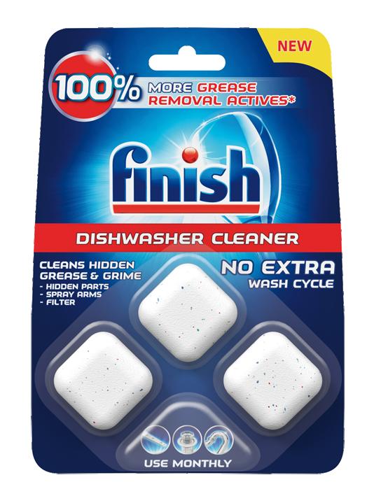 Таблетки за почистване на съдомиялна Finish