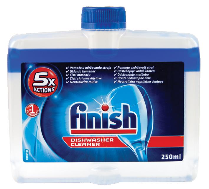 Почистваща течност за съдомиялна Finish