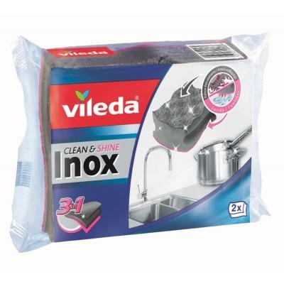Кухненска гъба Vileda Inox 3in1
