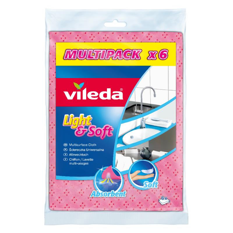 Универсална кърпа Vileda Soft & Light