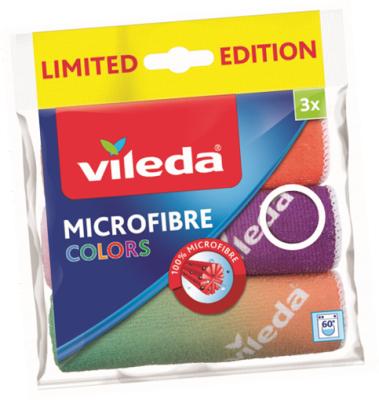 Микрофибърни кърпи Vileda colors