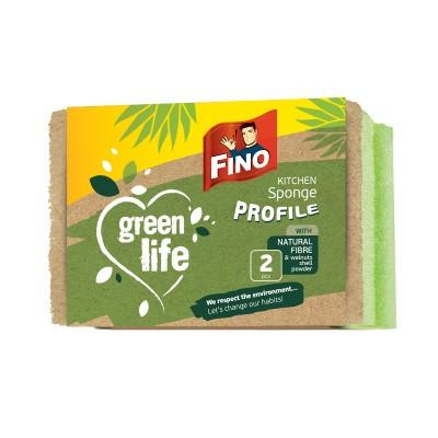 Кухненска гъба Fino green life с канал