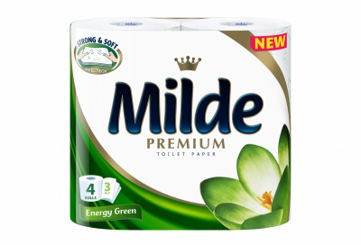 Тоалетна хартия Milde Premium Energy Green