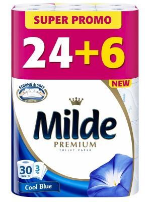 Тоалетна хартия Milde Premium Cool Blue