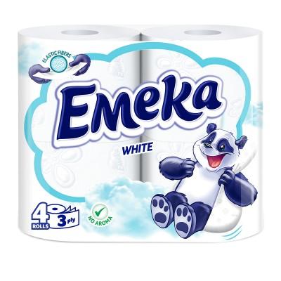 Тоалетна хартия Emeka White