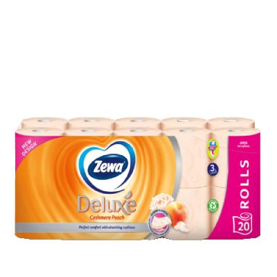Тоалетна хартия Zewa Deluxe Cashmere Peach