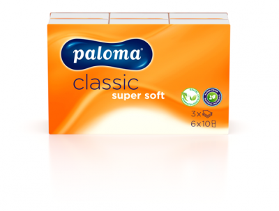 Носни кърпи Paloma Classic трипластови