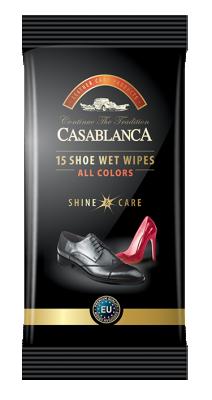 Casablanca Мокри кърпи за обувки
