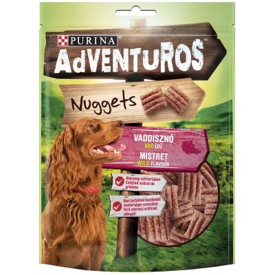 Purina Adventuros Лакомство за кучета в зряла възраст - хапки Глиганско
