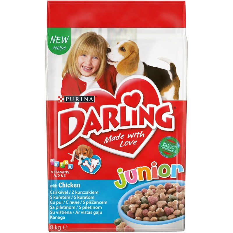 Purina Darling Junior Кучешка храна