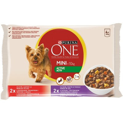 Purina One Mini Active Говеждо