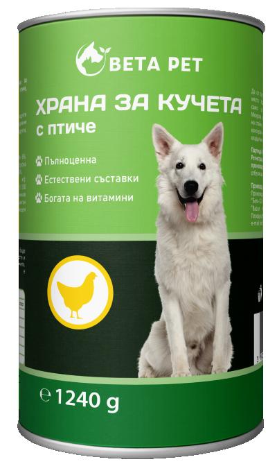 Храна за куче BETA PET с пиле