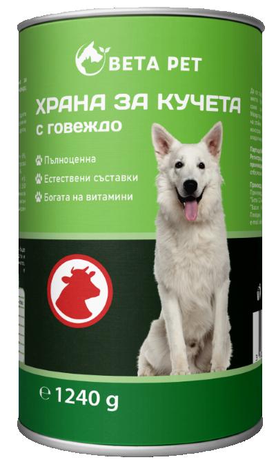 Храна за куче BETA PET с говеждо месо