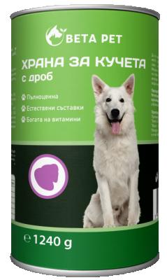 Храна за куче BETA PET с дроб