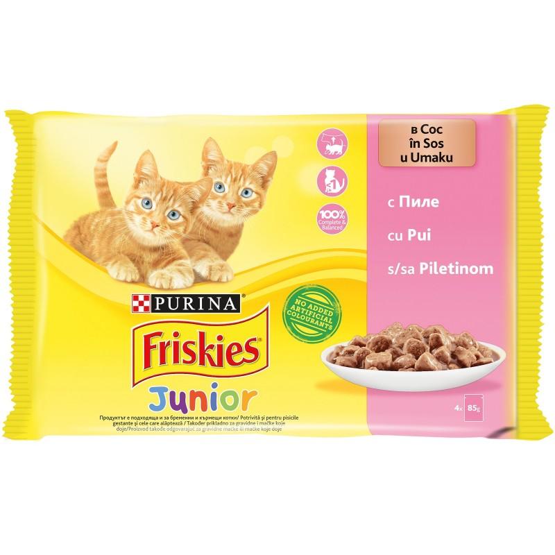 Purina Friskies Junior Пиле в сос