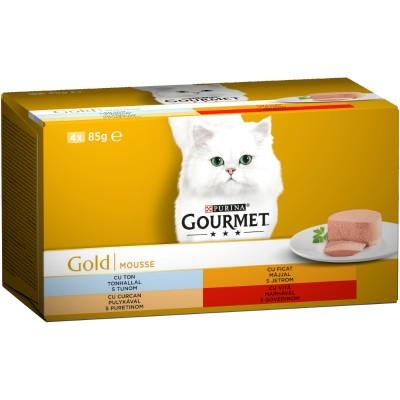 Purina Gourmet Gold 4 Асортимента Пастет