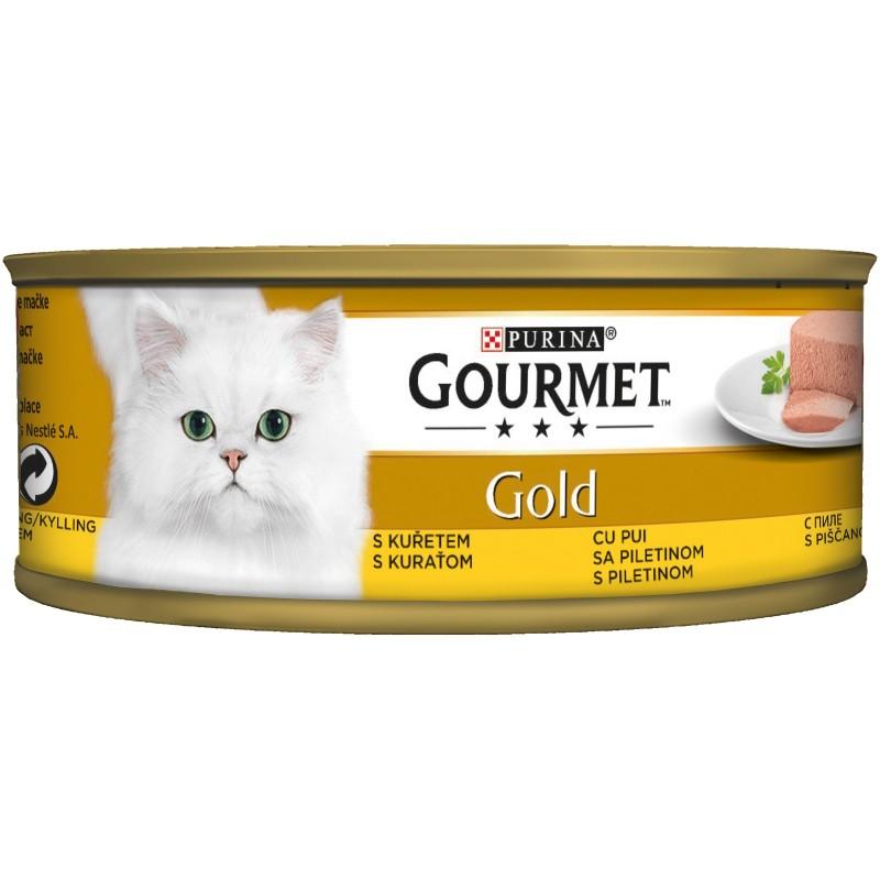 Purina Gourmet Gold Пастет Пиле