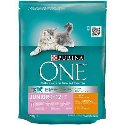 Purina One Junior Пшеница и Пиле