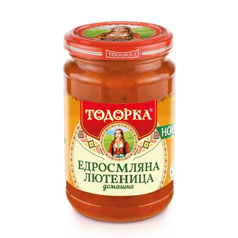 Домашна едросмляна лютеница Тодорка