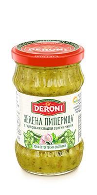 Зелена Пиперица Дерони