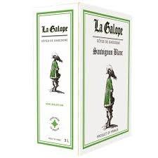 Бяло вино Совиньон Блан Шато Domaine de L`Herre ЛаГалоп
