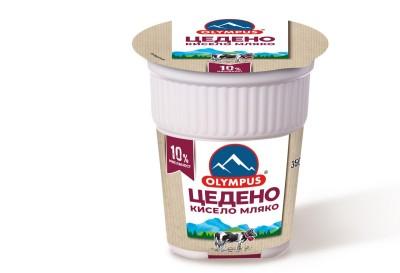 Цедено кисело мляко OLYMPUS 10%