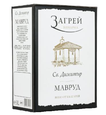 Вино Мавруд ЗАГРЕЙ