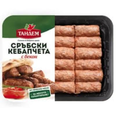Сръбски кебапчета Тандем с бекон