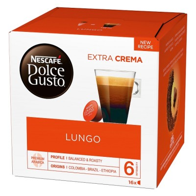 Kафе капсули Nеscafe Dolce Gusto Lungo 16 напитки