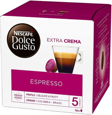 Kафе капсули Nеscafe Dolce Gusto Espresso 16 напитки