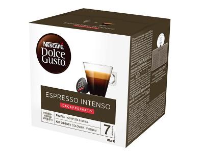 Kафе капсули Nеscafe Dolce Gusto Espresso Intenso Decaffeinato 16 напитки