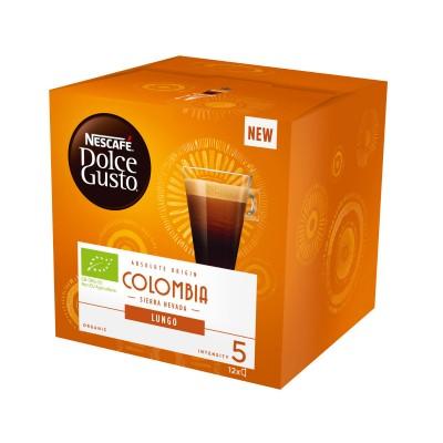 Kафе капсули Nеscafe Dolce Gusto Colombia Sierra Nevada 12 напитки
