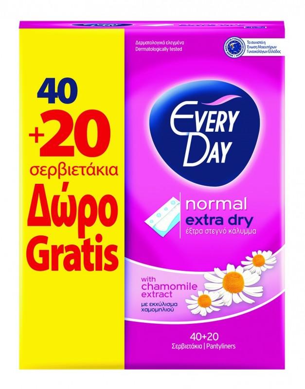 Ежедневни дамски превръзки EveryDay Extra Dry