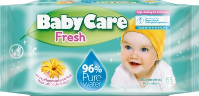 BabyCare Fresh Бебешки Мокри Кърпи