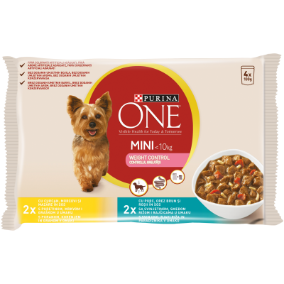Purina One Mini Говеждо , Пуйка и Моркови