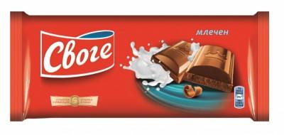 Шоколад Своге фин млечен