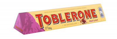 Шоколад Toblerone Плодове и ядки