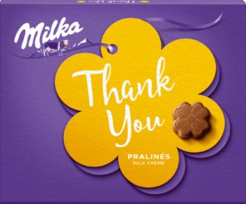 Бонбони Milka Thank you Млечен крем