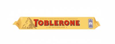Шоколад Toblerone млечен