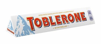 Шоколад Toblerone Бял
