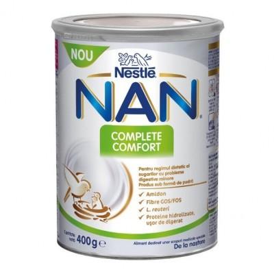 Мляко за бебета NAN Complete Comfort 400г