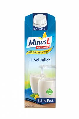 UHT Прясно мляко Minus L без лактоза 3.5%