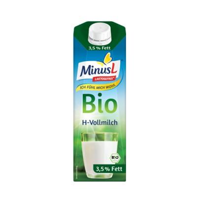 БИО Прясно мляко без лактоза UHT 3.5% MINUS L