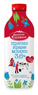 Прясно мляко Маджаров 3.6%
