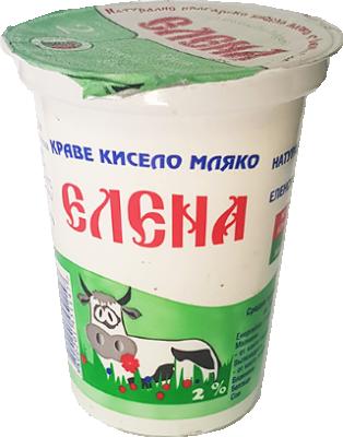 Кисело мляко ЕЛЕНА 2%