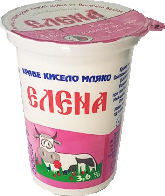 Кисело мляко ЕЛЕНА 3.6%